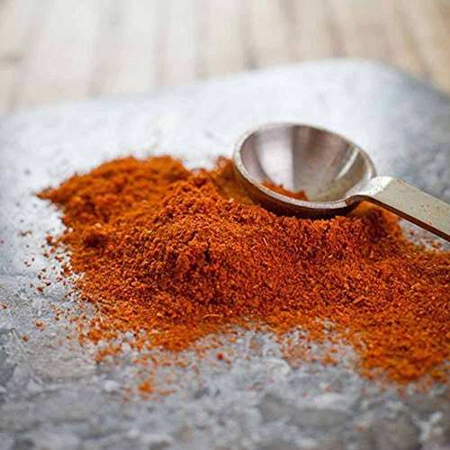 Ghost Pepepr Powder, 1/2 ounce, from the hotest pepper in the world Bhut Jolokia