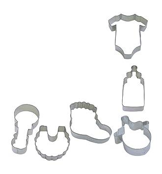 R y M para accesorios de bebé molde para galletas juego de: Amazon.es: Hogar
