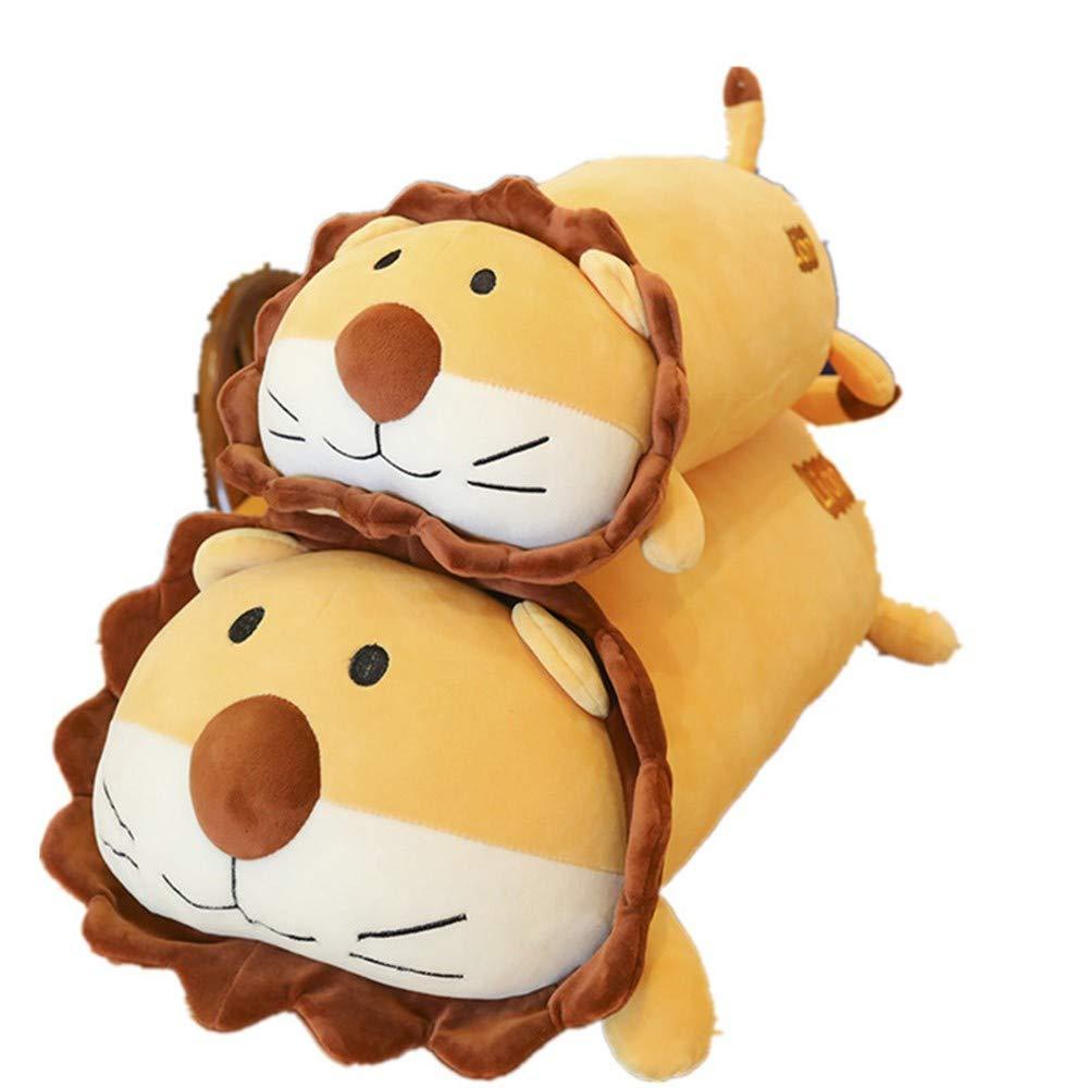 LAIBAERDAN Plüschtiere Daunen Baumwolle Löwe Kissen Schlafkissen Puppen Kinderpuppen 45-60-80Cm, 60Cm B07NSX4791 Stoffspielzeug Schön geformt   Zuverlässige Leistung