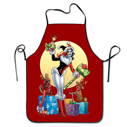 Harley Quinn Washable Wig For Women (Harley Quinn Christmas Durable Home Chef Kitchen Bib Aprons)
