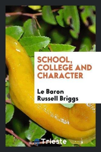 Download School, College and Character pdf