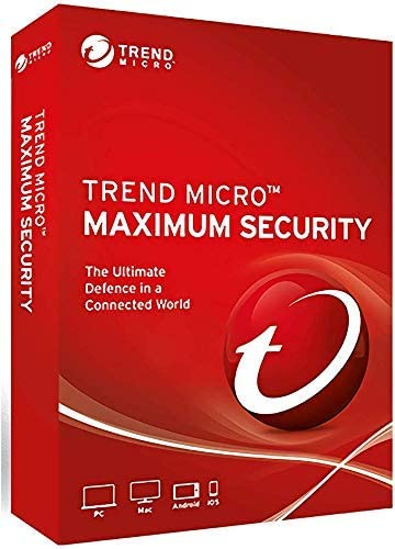 Trend Micro Maximum Security 5 Devices 3 Years for PC, Mac, Android & IOS 514nqJXGlzL