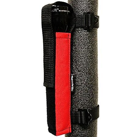 Bartact Orange Universal Roll Bar D-Cell Mag Flashlight Holder