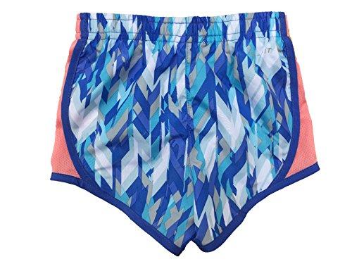 Nike Girls Hardloopbroek Met Droge Snelheid Cool Blue (u1e) / Bright Mango / White