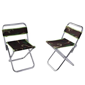 Amazon.com: YFLY Taburetes de camping plegables portátiles ...