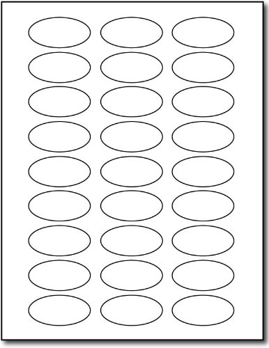 (White Oval Labels - 2