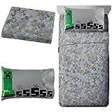 super mario sleeping bag - MineCraft Spawn Kids Full Sheet Set