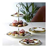 Royal Albert 27400132 Old Country Roses 3-Tier Cake