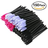 Disposable Mascara Wands, ESARORA 150pcs Disposable Eyelash Wands Applicator Eyebrow Brush Makeup Kit
