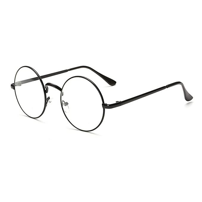 Amazon.com: Gafas de sol vintage redondas transparentes para ...