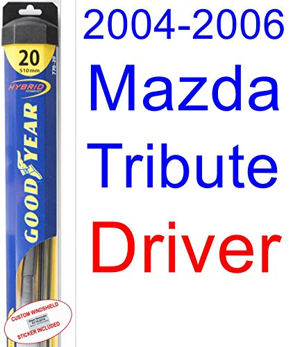 ute Wiper Blade (Driver) (Goodyear Wiper Blades-Hybrid) (2005) (Mazda Tribute Hybrid)