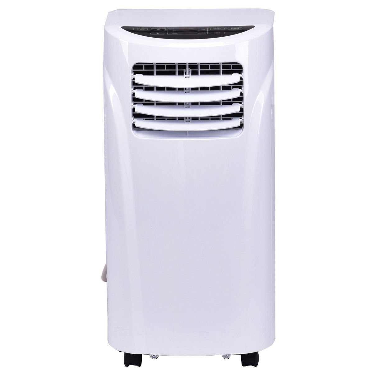 Costway 10,000 BTU Portable Air Conditioner with Remote Control Dehumidifier Function Window Wall Mount in White by COSTWAY (Image #3)