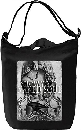 Show Your Naked Soul Borsa Giornaliera Canvas Canvas Day Bag| 100% Premium Cotton Canvas| DTG Printing|