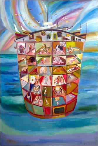 Posterlounge Tableau En Pvc 120 X 180 Cm Noahs Ark De
