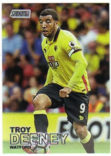 2016-17 Topps Stadium Club EPL Premier League Soccer #28 Troy Deeney Watford