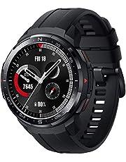 HONOR Watch GS Pro Smartwatch dla mężczyzn z funkcją Bluetooth (odbieranie, odrzucanie, odrzucanie połączeń), monitor SpO2, pomiar tętna, tryb narciarski, czarny