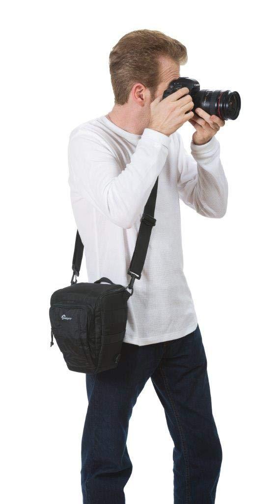 Lowepro Toploader Zoom 55 AW II Camera Case for DSLR and Lens Blue