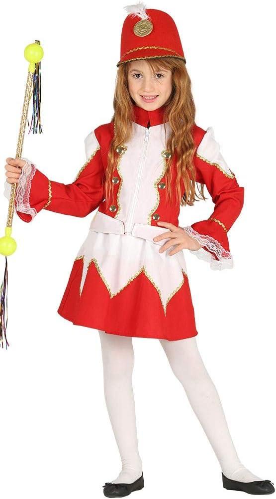 Disfraz de soldado de tambor rojo para niñas de 3 a 12 años ...