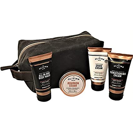 a7f6872e22 Image Unavailable. Image not available for. Color  Dopp Kit Men s Travel ...
