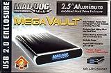 MAD DOG MULTIMEDIA MegaVault MD-AEN250USB2 2.5 inch Hard Drive USB 2.0