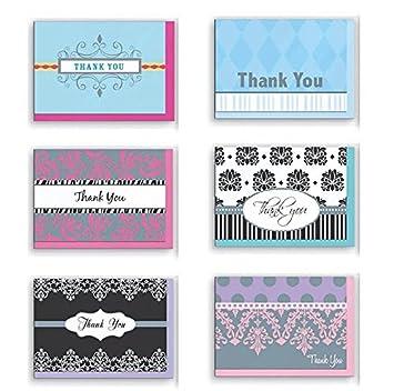 amazon com assorted thank you appreciation cards bulk blank note