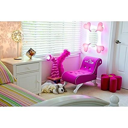 Amazon.com: Chaise Lounge Indoor Girls Pink Princess Sitting \'Diva ...