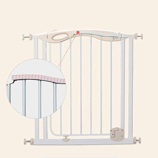 FSGD Barrera de Seguridad de para niños, Puerta de Seguridad de la Escalera del bebé, Cerca de Protección del bebé Valla, 77-182cm,112~119cm: Amazon.es: Hogar