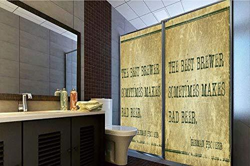 - Decorative Privacy Window Film, 35.43