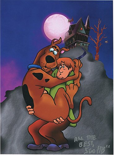 Scooby Doo & Shaggy Signed Autograph Tribute Print 8.5x11 With COA PJ1 from PJ's Collectibles