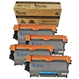 4 Pack V4INK New Compatible Brother TN450 Toner Cartridge-Black, Office Central