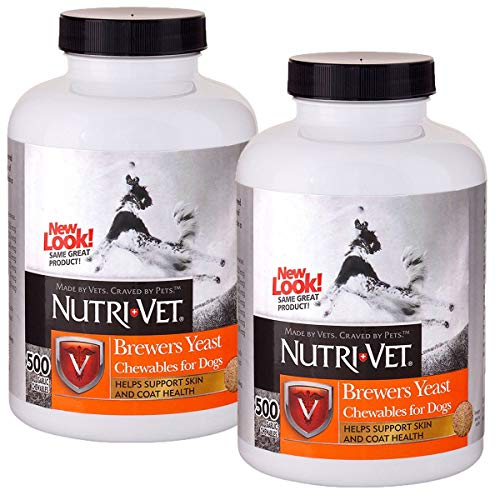 Nutri-Vet Brewers Yeast with Garlic Chewables, 1000 Count For Sale