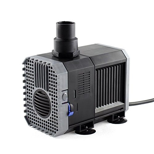 1200Gph Adjustable Submersible Water Pump Aquarium Fish Tank Fountain Hydroponic