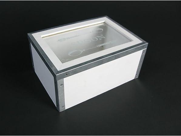 Se puede emplear como Box organizador portacubiertos cubertería caja Löffenkiste cucharas medidoras francés rústico Look: Amazon.es: Hogar