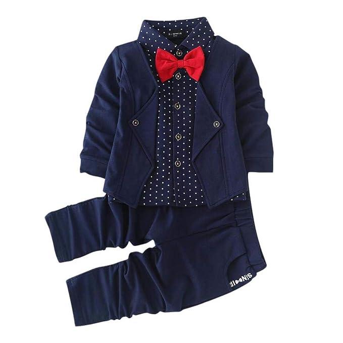 216a1fa37b Si Noir by Hopscotch Boy s Cotton Blazer Shirt and Pant Set in Navy Blue  Colour