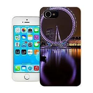 BreathePattern-London Eye-Apple iPhone 4 case