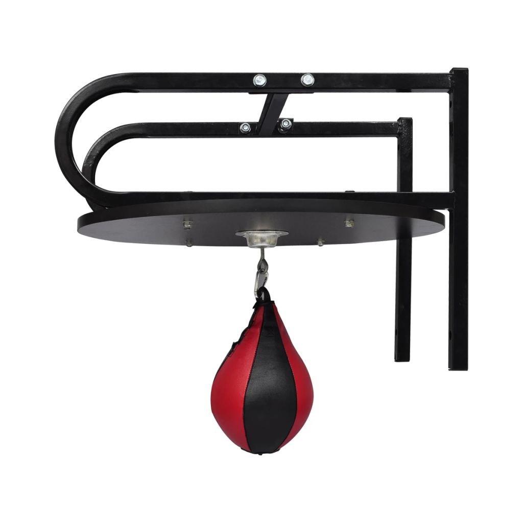 vidaXL Set de plataforma de Bola de la velocidad Soporte giratorio Bolsa de boxeo