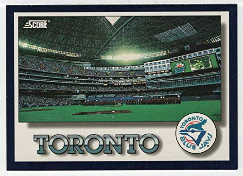 (Toronto Blue Jays Stadium Checklist (Baseball Card) 1994 Score # 330 NM/MT)