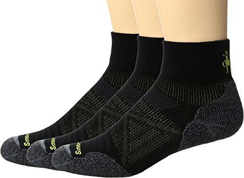Light Socks Outdoor Mini (Smartwool Men's PhD Outdoor Light Mini 3-Pack Black Medium)