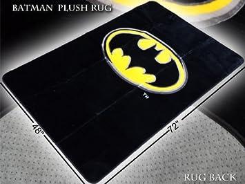Charming Batman Emblem 4u0027 X 6u0027 Area Rug