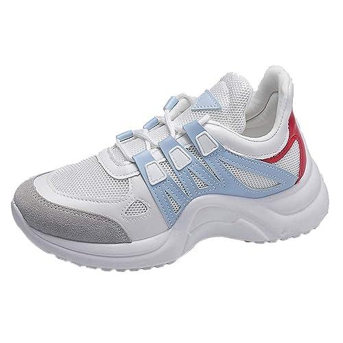 Beladla Zapatillas Running para Mujer Aire Libre Y Deporte Transpirables Casual Zapatos Gimnasio Correr Sneakers Ocasional Deportivos Tennis Sports Shoes: ...