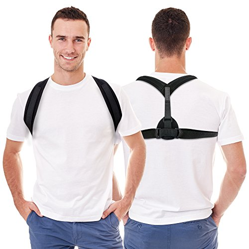 SeaNoyA Back and Spine Posture Corrector Support Brace by SeaNoyA