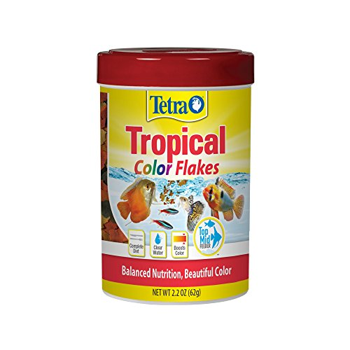 514nxQY RfL - Tetra TetraColor Natural Color Enhancing Tropical Fish Flakes, 2.2 oz