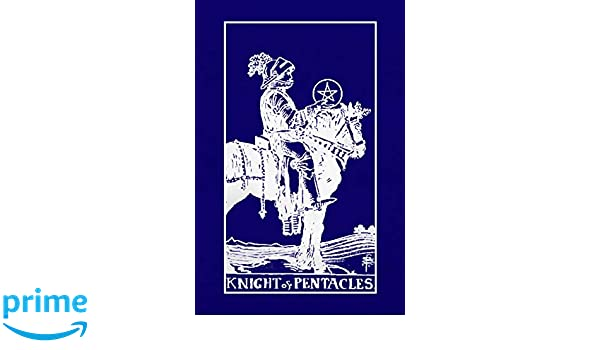 Knight of Pentacles: Tarot Card Journal, 6 x 9 Inch Matte