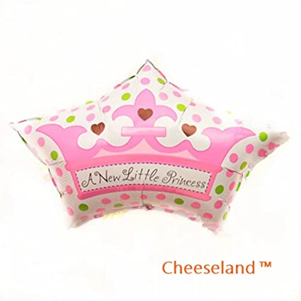 Amazon.com: cheeselandtm-31.4 pulgadas Baby Shower Mylar ...