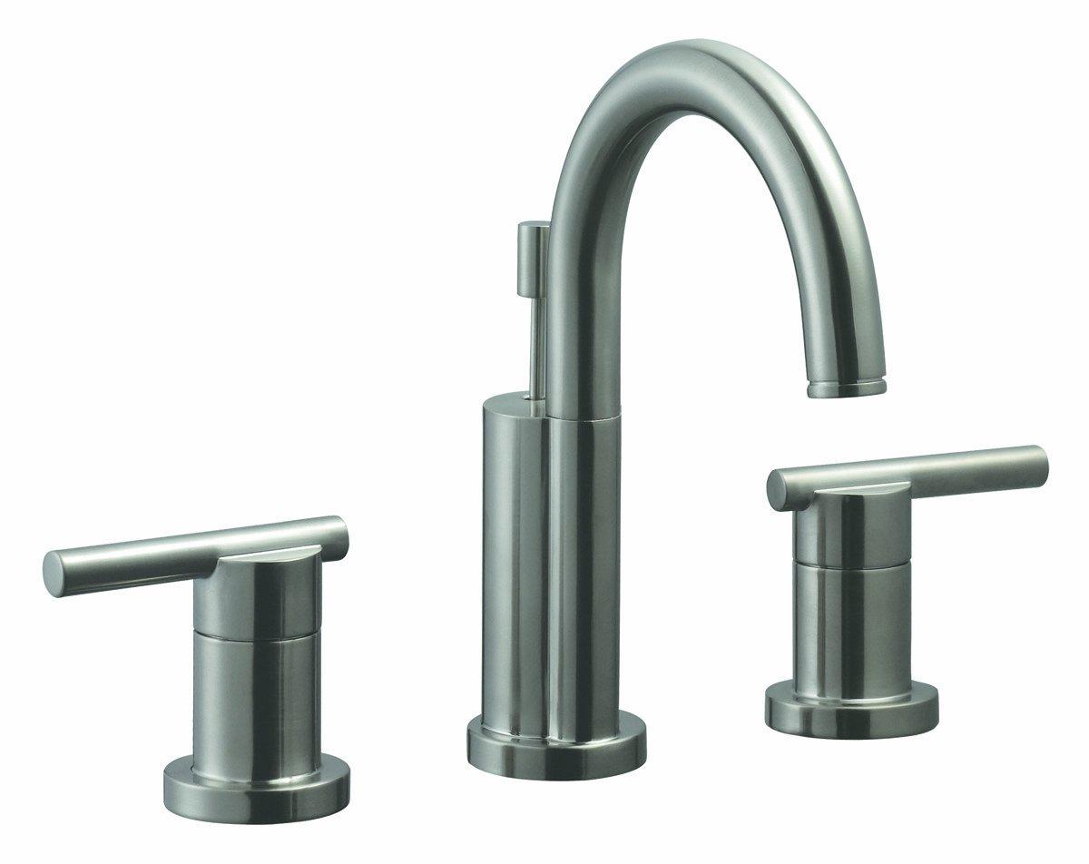 Design House 525733 Geneva Wide Spread Lavatory Faucet, Satin Nickel ...