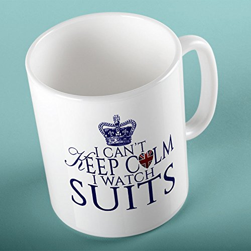 I Can't Keep Calm I Watch Suits - TV Show Mug
