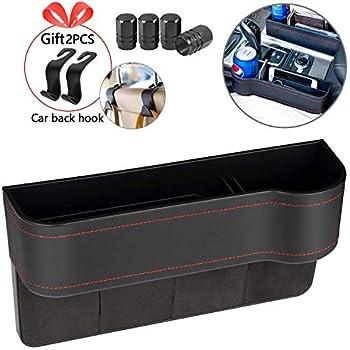 Amazon.com: Homesprit Premium PU Black Car Seat Gap Filler