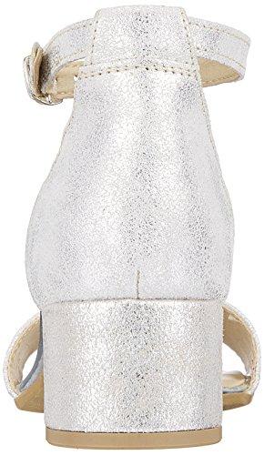 Silver 28394 Damen Tamaris Riemchensandalen Metall Silber gIRWq5