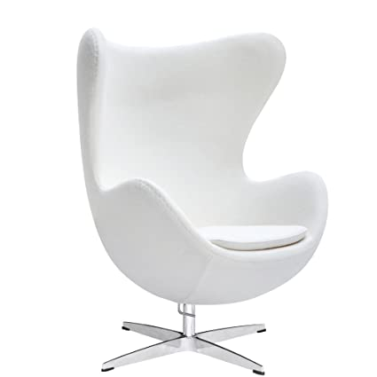 1c005575cffc2 Amazon.com  Fine Mod Imports FMI1129-white Inner Chair Fabric