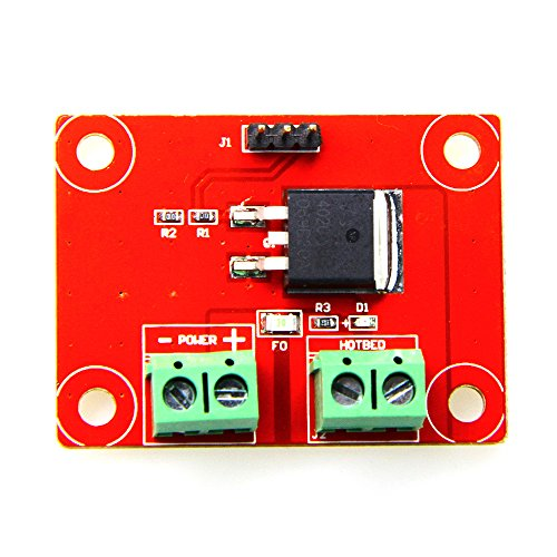 (Head Heating Control MKS MOS with Line 12V-24V 12A MKS MOS Control Board for 3D Printer Hotbed Printhead)